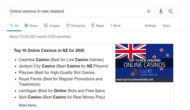 How to find online casinos?
