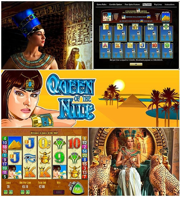 How to play Queen of the Nile slot