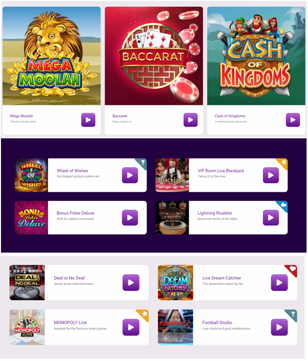 Jackpot city casino pokies games to play