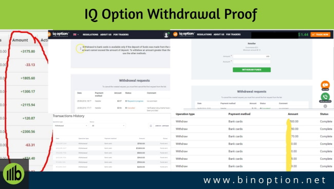 Many deposit withdrawal options