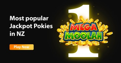 Most popular Jackpot Pokies in NZ
