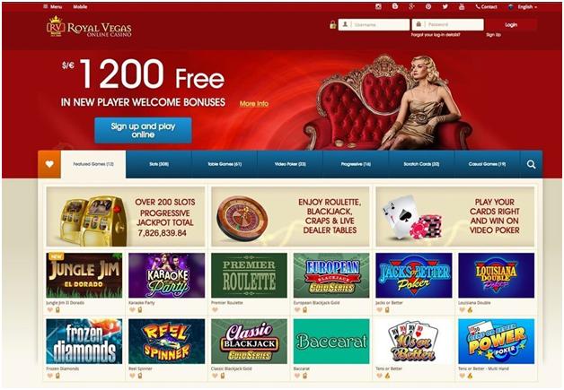 Royal Vegas Casino online NZ