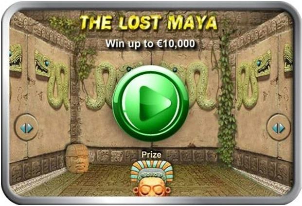 The lost Maya scratch