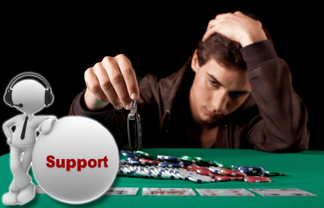 Where to get support with gambling