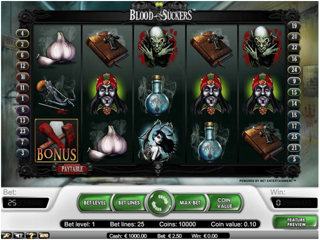 Blood Suckers pokies that pay