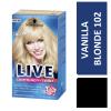 Schwarzkopf Live Hair Colour 102 Vanilla Blonde