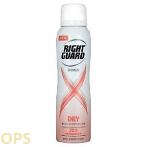 Right Guard Women Dry 72HR Anti-Perspirant 150ml