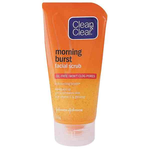 Clean & Clear Morning Burst Facial Scrub - 150ml