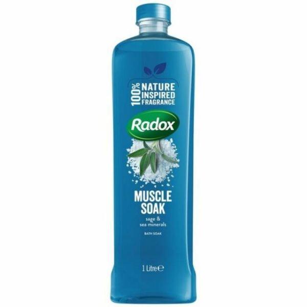 Radox Muscle Soak 1 litre Sage & Sea Minerals