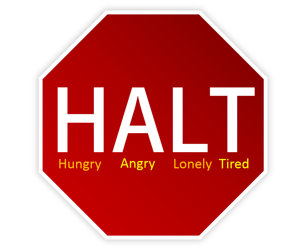 How To Resist Temptation With Halt