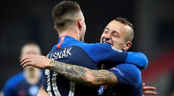 Adam Zreľák gól proti Ukrajine