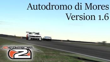 rfactor 2 rf2 Autodromo di Mores version 1.6 featured image