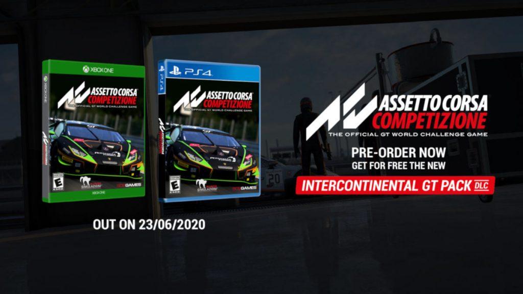 Assetto Corsa Competizione Console Editions