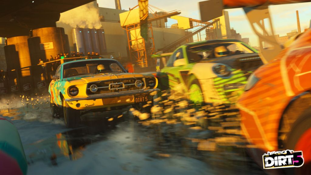 New York will offer some urban challenges in DIRT 5 with the frozen East River