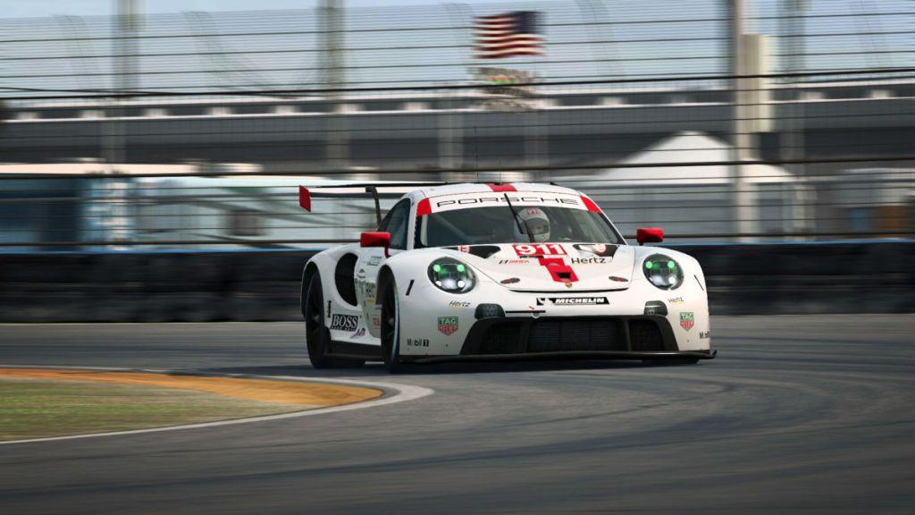 The 2019 Porsche 911 RSR in RaceRoom