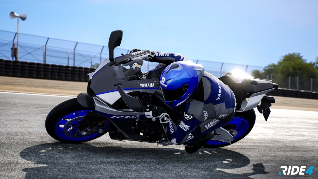 The limited edition 2020 Yamaha R1M in Ride 4