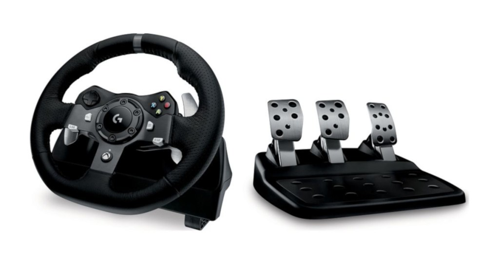 The Logitech G920 for the PC and Xbox One