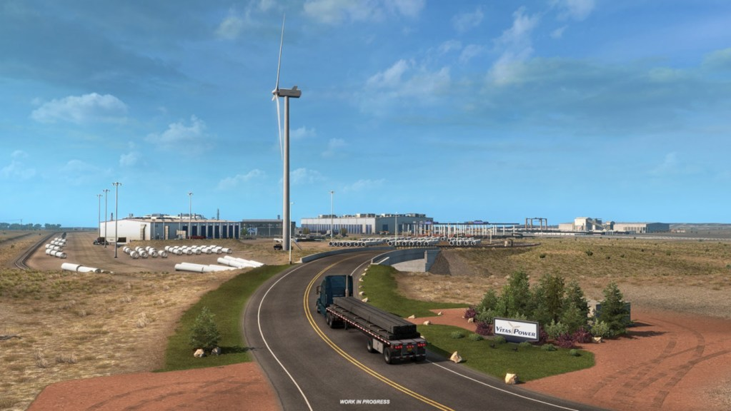 Expect to see plenty of wind turbines when you add the Colorado DLC to ATS