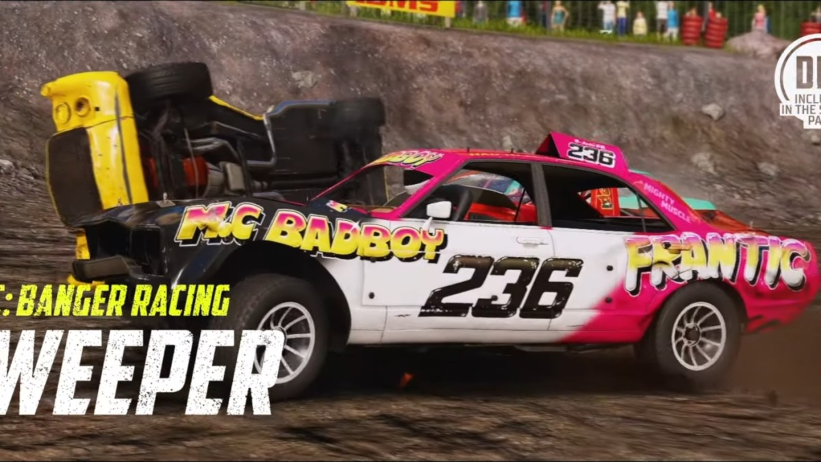 The Sweeper joins Wreckfest via the Banger Racing pack