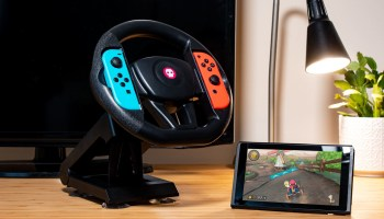 The new Numskull Designs Nintendo Switch Steering Wheel