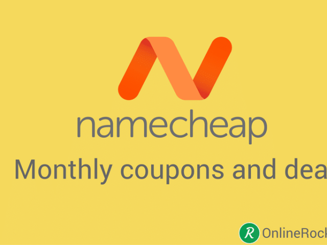 Working Namecheap monthly coupons and discounts