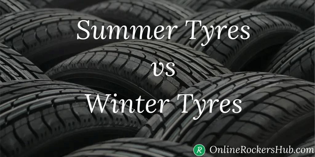 Summer Tyres vs Winter tyres