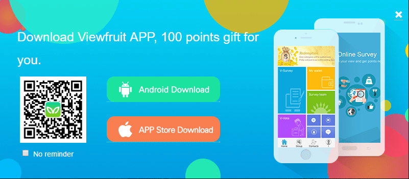 viewfruit android app and ios app