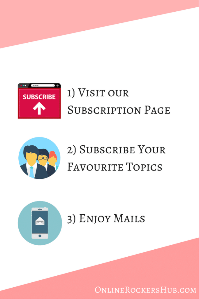 Subscribe Newsletter at OnlineRockersHub