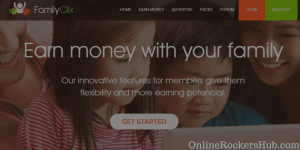 A complete FamilyClix review to make money online