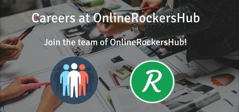 Careers at OnlineRockersHub