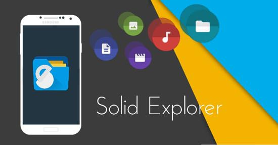 Solid Explorer File Manager android app