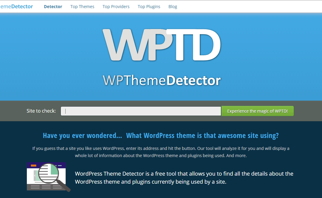 What WordPress theme is that? – An Easy way to find out