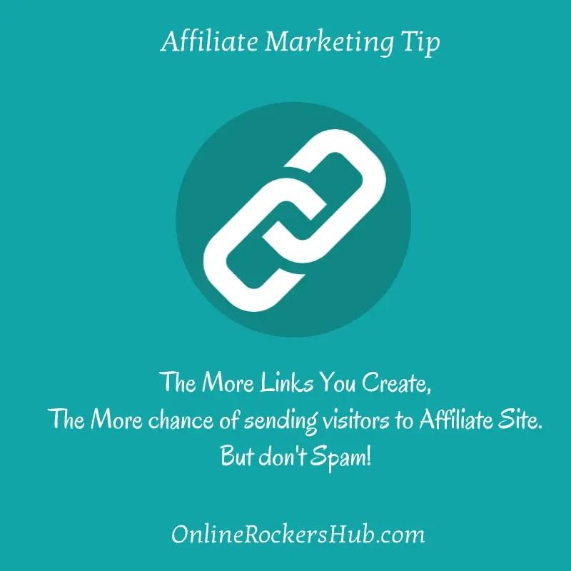 Affiliate Marketing Tip