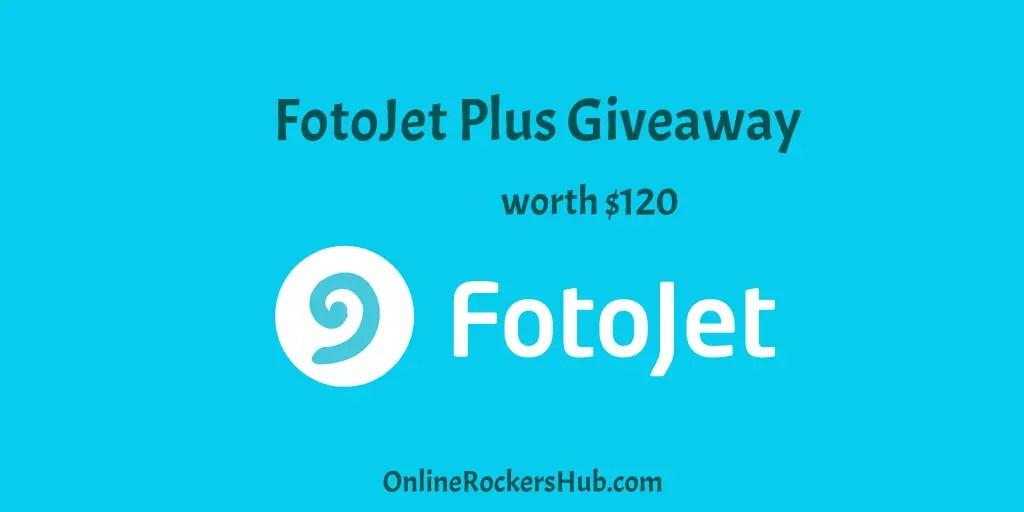 FotoJet Plus Giveaway