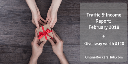 Monthly Traffic and Income Report: February 2018
