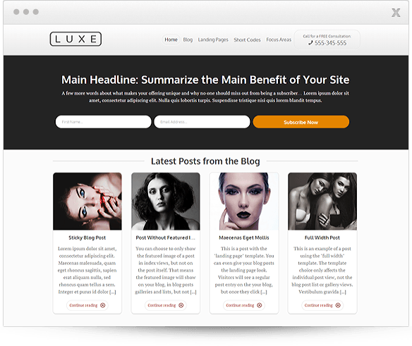 Buy Thrive Luxe theme for $49