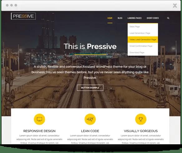 Buy Thrive Pressive Theme for $49