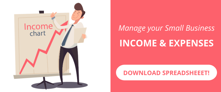 [Download] Free Small Business Spreadsheet for Income and Expenses