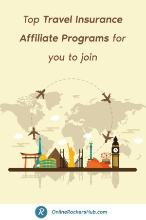 Top Travel Insurance Affiliate Programs for you to join - Pinterest Image