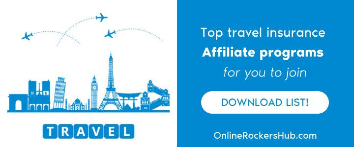 Top Travel Insurance Affiliate Programs for you to join