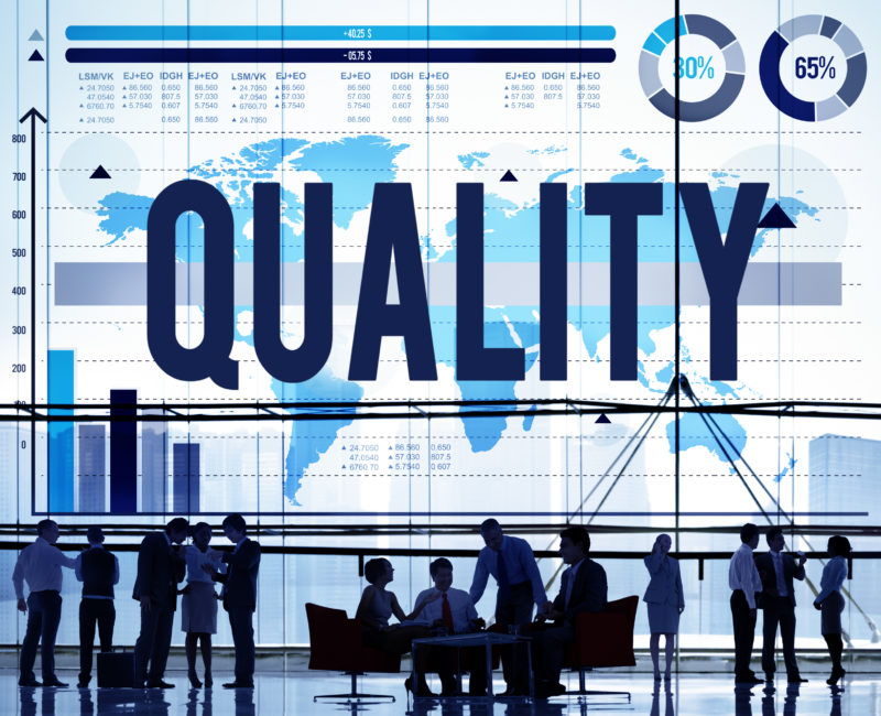 Quality is the key for success