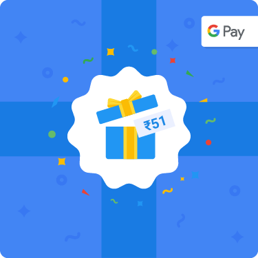 Get Rs 51 for joining Google Pay