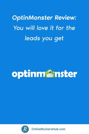 OptinMonster Review_ You will love it for the leads you get - Pinterest Image