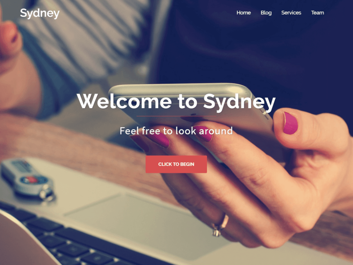 Sydney WordPress Theme