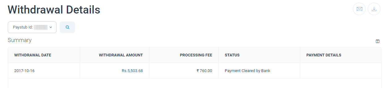 Impact Payment Proof