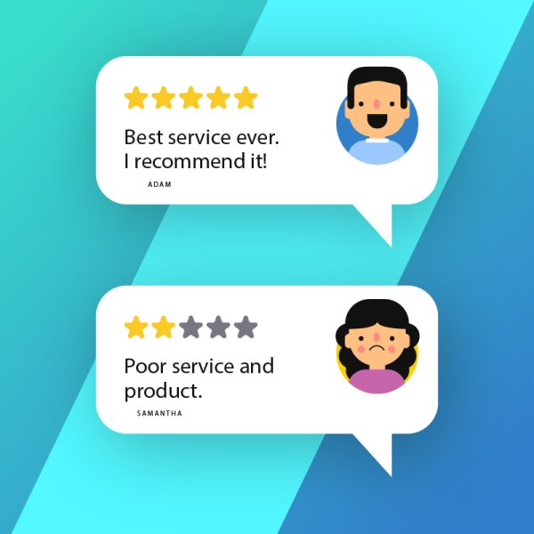 Reviews on Products and Services