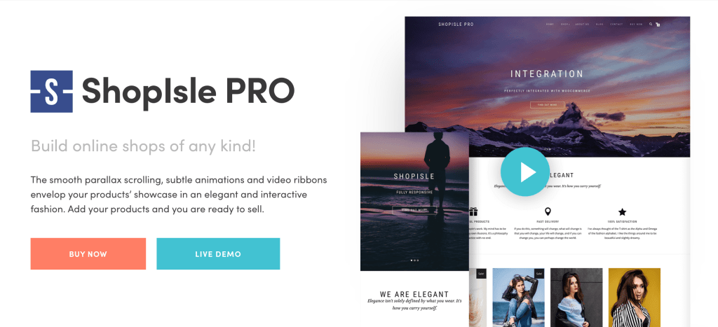 ShopIsle Pro - ThemeIsle WordPress Theme
