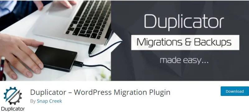 Duplicator - WordPress Migration Plugin