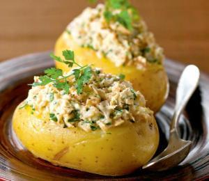 cartofi cu ton
