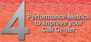 Four Performance Metrics to Improve your Call Center image 4 PerformanceMetrics 300x138